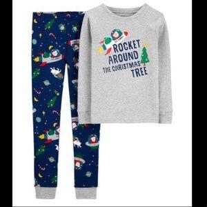 Carter's 'Rocket Around the Tree' Pajama Set